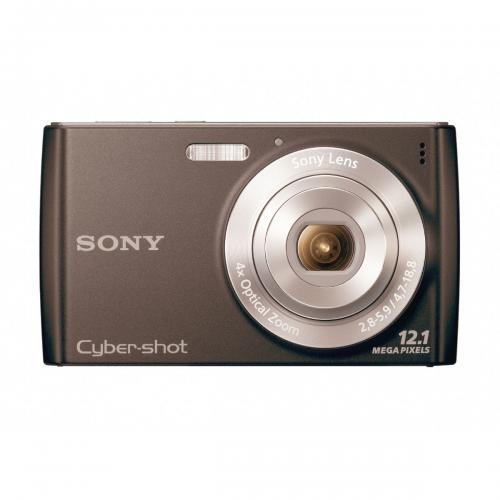 Câmera digital sony cyber-shot dsc-w510 12.1mp - lcd tft 2,7 / zoom óptico 4x / face detection