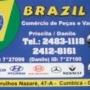 BRAZIL PEÇAS COMÉRCIO DE PEÇAS PARA VANS.