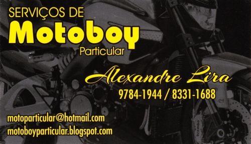 Motoboy particular