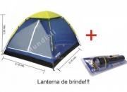Barraca Camping Iglu 4 Pessoas Lanterna Gratis Bolsa Transporte Trilha - Curitiba/PR
