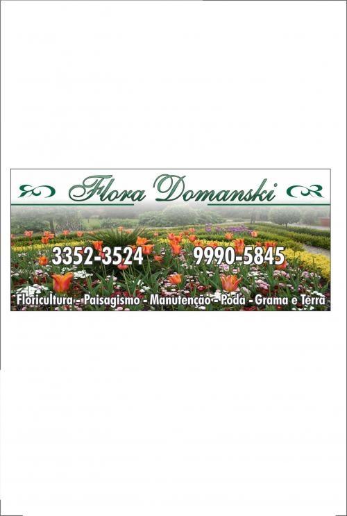Flora domanski e domanski jardinagem