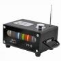 MINI CAIXA DE SOM 10W RMS PORTÁTIL USB/SD/FM VISOR COLORIDO YP-78