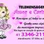 Telemensagens de Amor e Carinho Curitiba