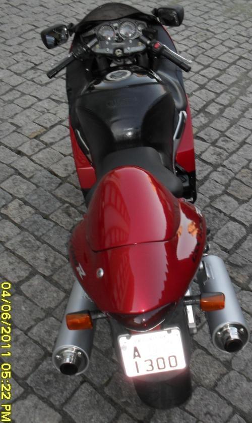 Vendo suzuki gsx 1300 r hayabusa - r$ 26.600,00 - vermelha - 1999