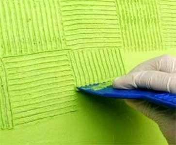 Pintor grafiato textura