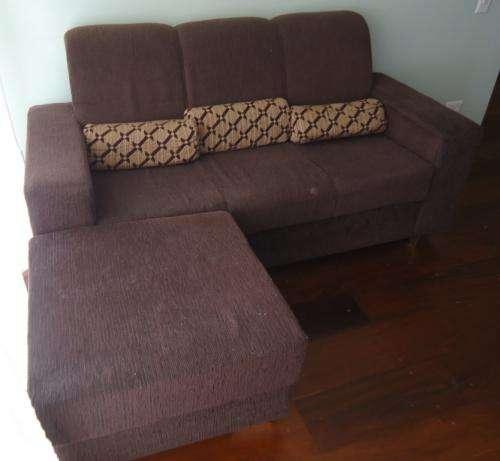 Sofá 2 e 3 lugares com puff em São Paulo - Móveis | 130353