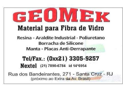 Geomek fibra de vidro
