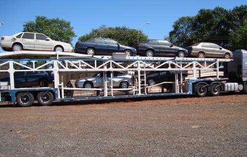 Transporte de carros novos e semi novos - cegonha /plataforma