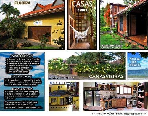 Casas em florianópolis (3em1) oferta imperdível!!!