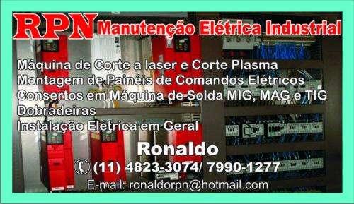 Eletricista autonomo(industrial,predial,comercial e residêncial)