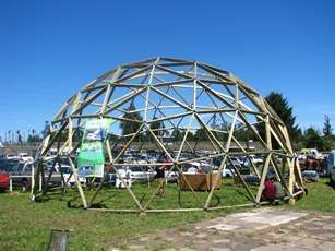 Kit dome geodesic f3, f4