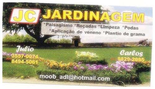 Jardineiro j_c jardinagem