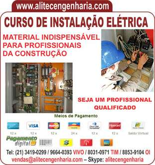 Curso de elétrica predial, residencial e industrial passo a passo