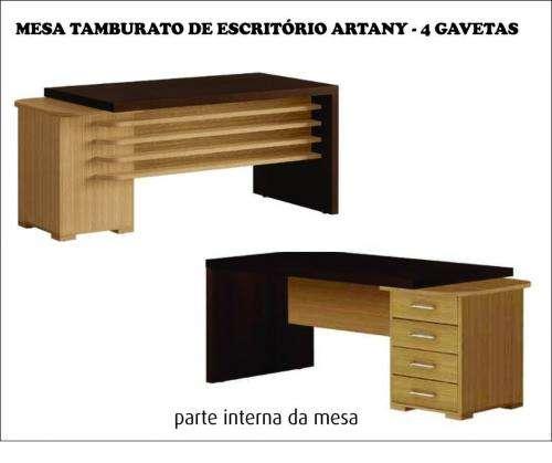 Móveis para escritório semi-novos - linha artany
