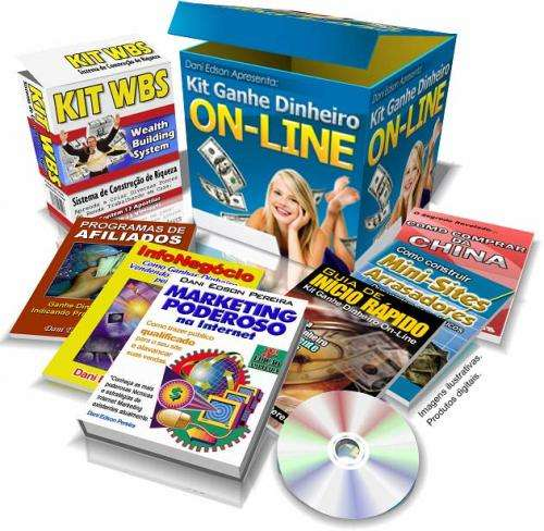 E-book kit ganhe dinheiro de verdade na internet