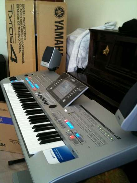 Yamaha tyros 4/yamaha m7cl-48 48ch digital mixing console