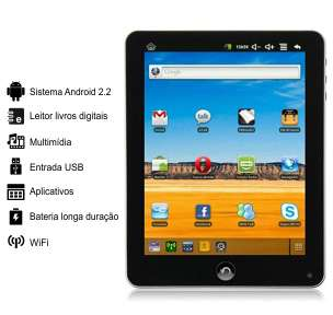 Tablet 7 polegadas android 2.2 com wifi