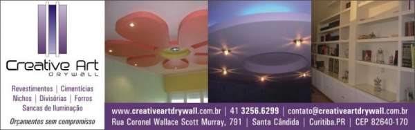 Drywall é com a creative art drywall