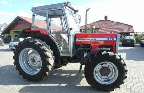 Tractores agrícolas massey ferguson 375