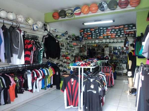 Vende-se loja de artigos esportivos