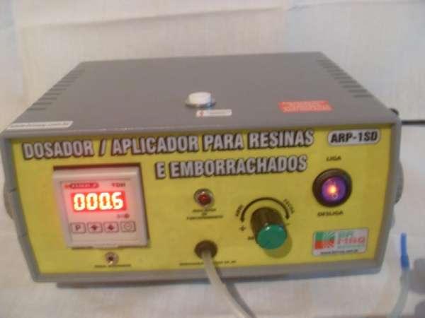 Fotos de Dosador / aplicador de resinas e emborrachados arp-1sd digital brmaq-brindes 5