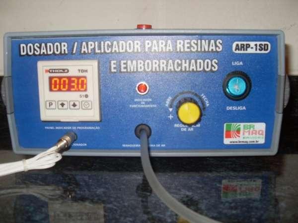 Fotos de Dosador / aplicador de resinas e emborrachados arp-1sd digital brmaq-brindes 3