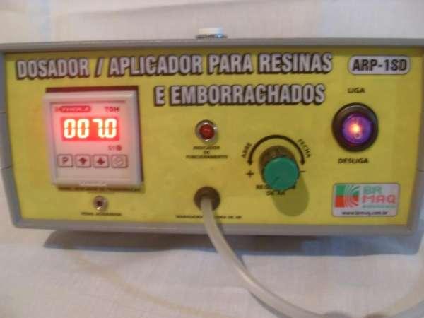 Fotos de Dosador / aplicador de resinas e emborrachados arp-1sd digital brmaq-brindes 6