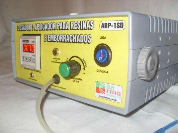 Fotos de Dosador / aplicador de resinas e emborrachados arp-1sd digital brmaq-brindes 4