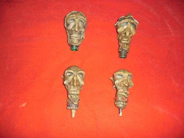 Coko loco, lâmpada, garrafa pet, bambú e durepox