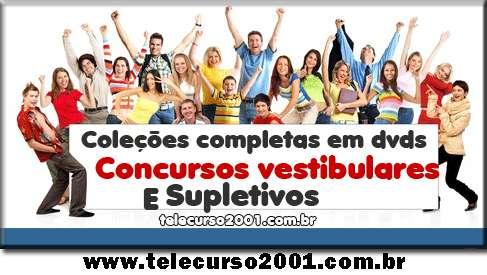 Telecurso 2000   novo telecurso 2000   cursos em dvd