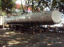 Vende-se carreta tanque de aço inox de 25.000 litros