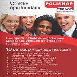Empreendedor da polishop, uma oportunidade para conquistar sua independencia financeira em pouco tempo