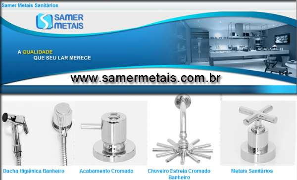 Metais sanitários | metais sanitários fabricantes | metal sanitário