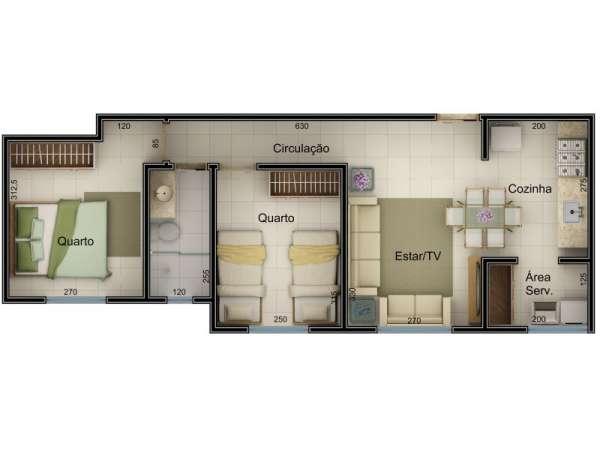 Fotos de Apartamento 3 quartos totalmente financiado 1
