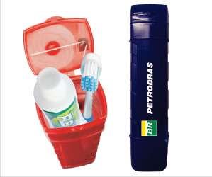 Estojos de higiene bucal gift do brasil