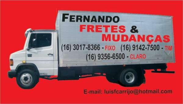 Fernando fretes & mudanças para todo o brasil