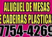 ALUGUEL DE CADEIRAS PLASTICAS EM REALENGO 21 77544269