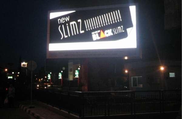 Painéis gigante de leds para publicidad exterior espectacular