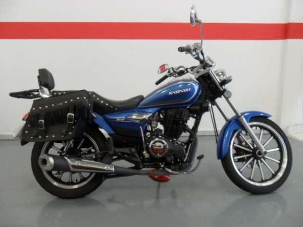 Vendo: kasinski mirage 150 cc 2010 azul