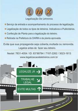 Fotos de Legalização de letreiros lmx e comunicação visual 1