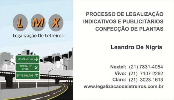 Fotos de Legalização de letreiros lmx e comunicação visual 3