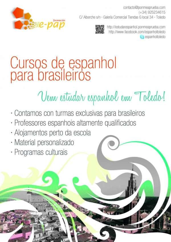 Cursos de espanhol na espanha - toledo