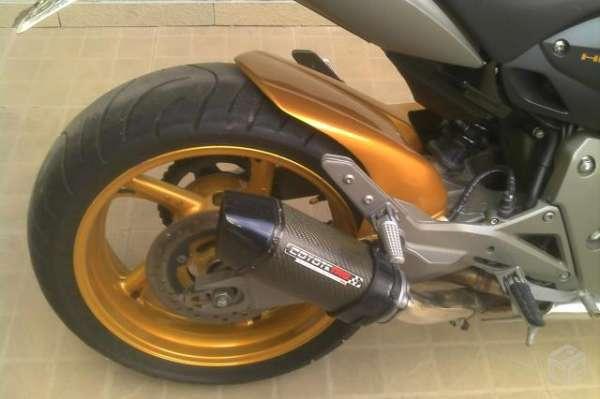 Honda cb 600 f hornet amarela - 2009