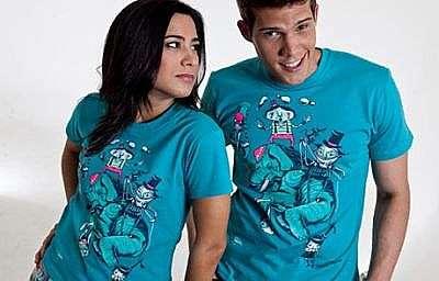 Inovando em qualidade e conforto, temos as camisetas personalizadas