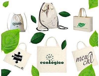 Venha conferir a produção de sacolas ecológicas
