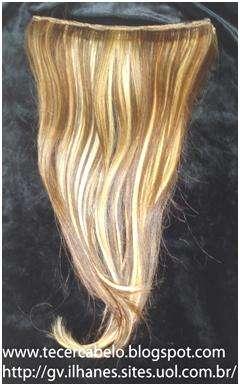 Mega hair - tecer cabelo - peruca - tecemos cabelo