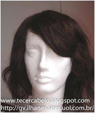 Perucas- mega hair, cabelo tecido, telas prontas, cabelo humano