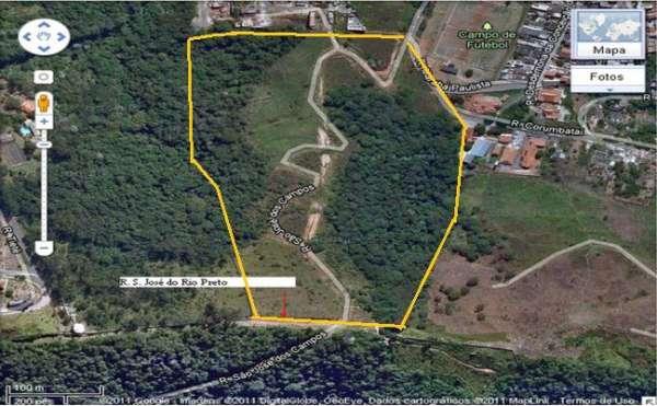 Terreno em cajamar - polvilho com 113.191m² por r$ 71,40m²