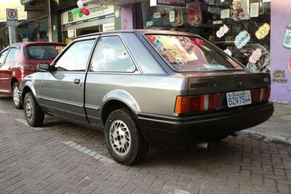 Venda de carro, ano 1990, scot gl, a alcool