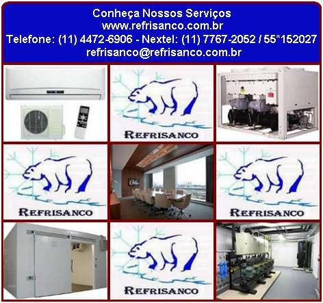 Servicos de ar condicionado e refrigeracao